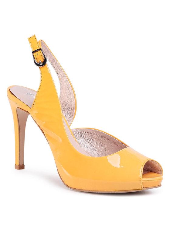 Sandały Olivia DCG802-P08-WJ00-2100-S kolor Żółty kod 0000207250703 1