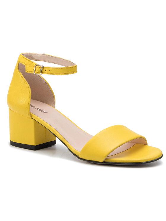 Sandały Omi DNI402-BY9-0299-0273-0 kolor Żółty kod 0000201205273 1