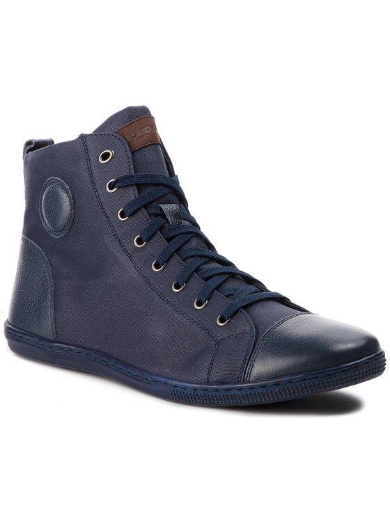Sneakersy Iten MTU049-M87-17SS-5757-T kolor Granatowy kod 0000200693521 1