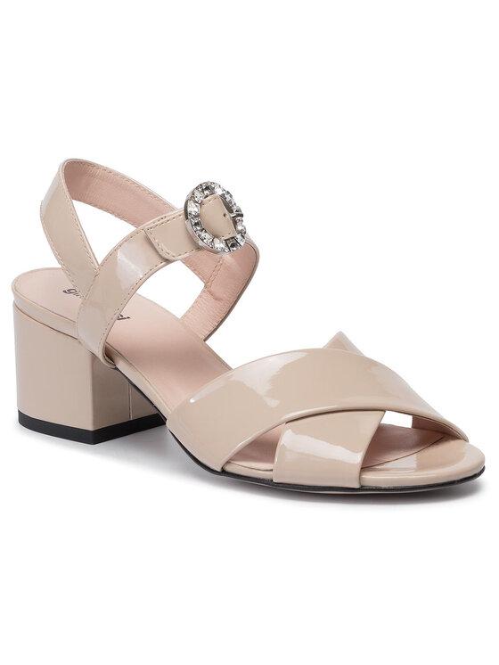 Sandały Omi DNI322-BY9-0146-1700-0 kolor Beżowy kod 0000201294925 1
