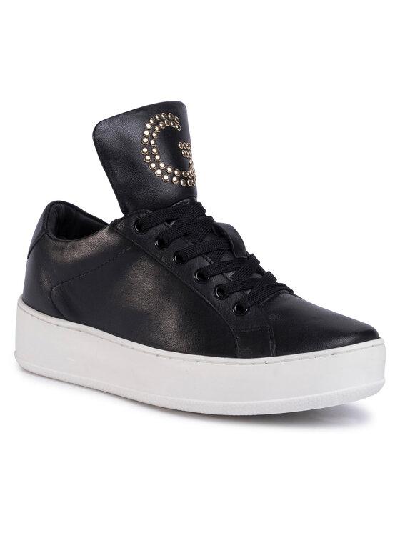 Sneakersy WI16-LEECE-02 kolor Czarny kod 5903419569562 1