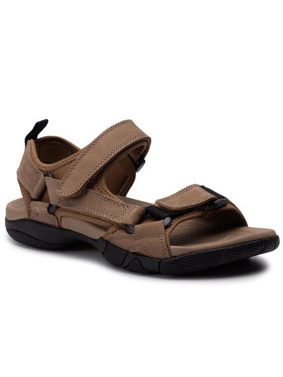 Sandały MN2827-TWO-BN00-3200-T kolor Brązowy kod 0000201557273 1
