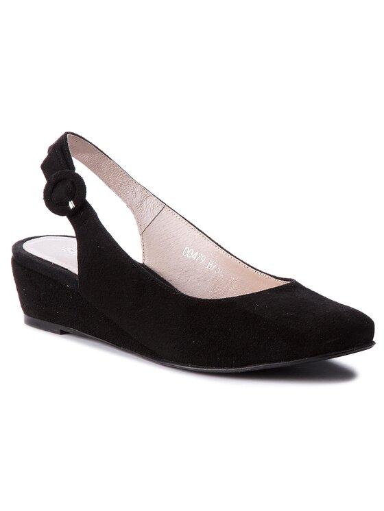 Sandały Jena DCH738-W12-4900-9900-0 kolor Czarny kod 0000200155968 1