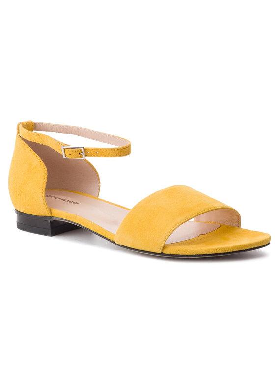Sandały Saly DNH859-W16-0020-2100-0 kolor Żółty kod 0000201294895 1